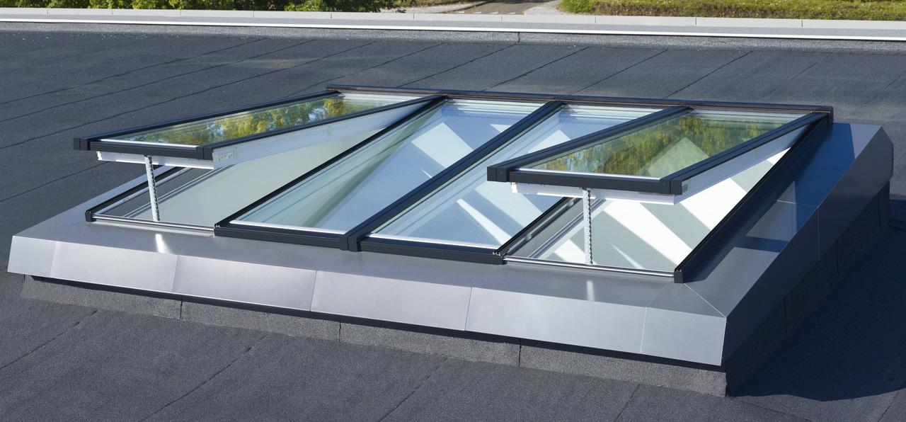 Velux modulares oberlicht system f r privaten wohnungsbau umfassende modula - Verriere de toit prix ...