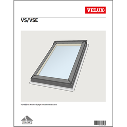 Skylights roof windows sun tunnels skylight replacement for Velux solar blinds installation instructions