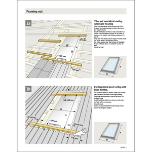 Professionals velux for Velux sun tunnel installation manual