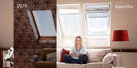 changer les vieilles fen tres de toit par des fen tres velux. Black Bedroom Furniture Sets. Home Design Ideas