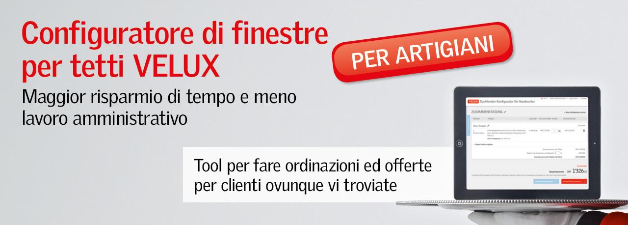Velux professionisti for Velux finestre per tetti listino prezzi