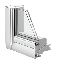 Schwingflügelfenster detail  Technische Details für VELUX Schwingflügelfenster