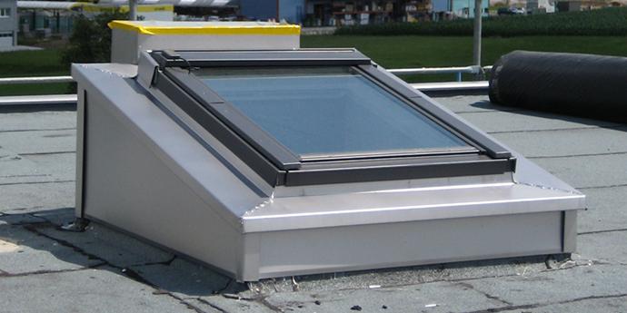 Fenêtres Pour Toit Plat Velux Efficaces Et Avantageuses