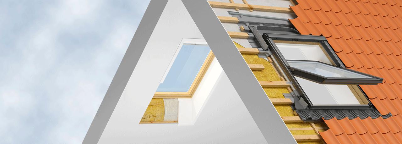 Productos de instalaci n velux para una instalaci n r pida for Ventanas para techos planos argentina