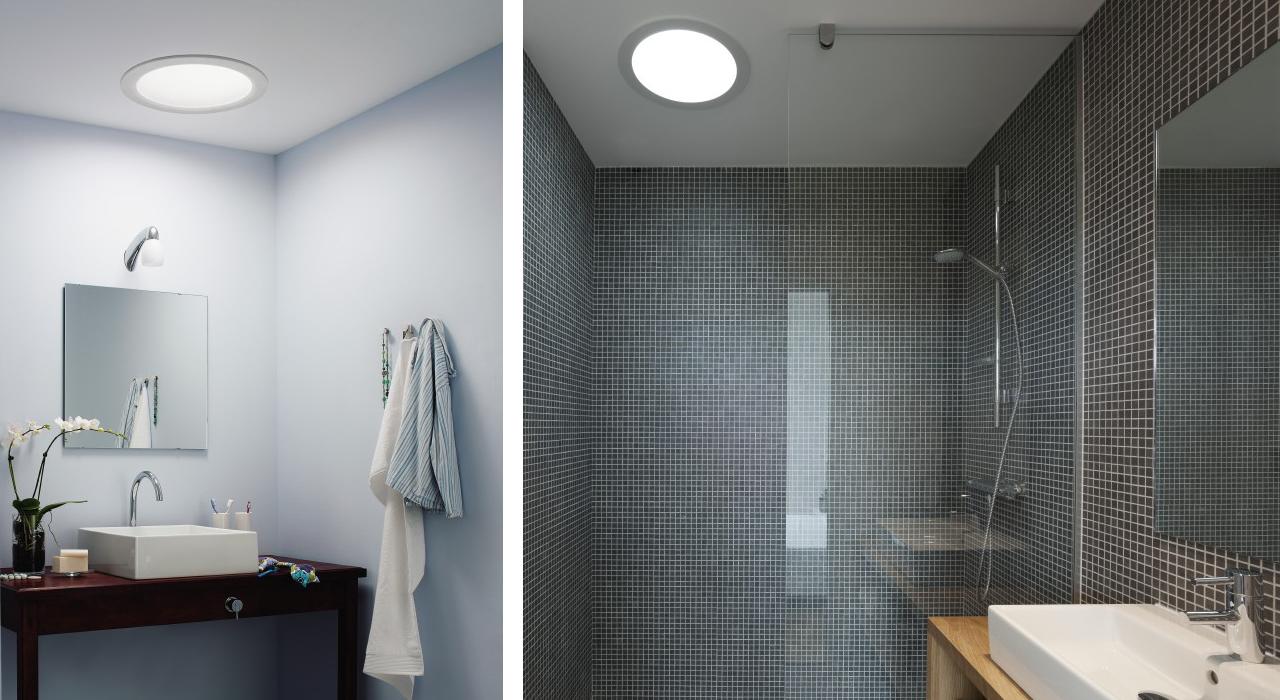 Badezimmer mit dachfenster  Dachausbau Ideen für Badezimmer | VELUX Dachfenster