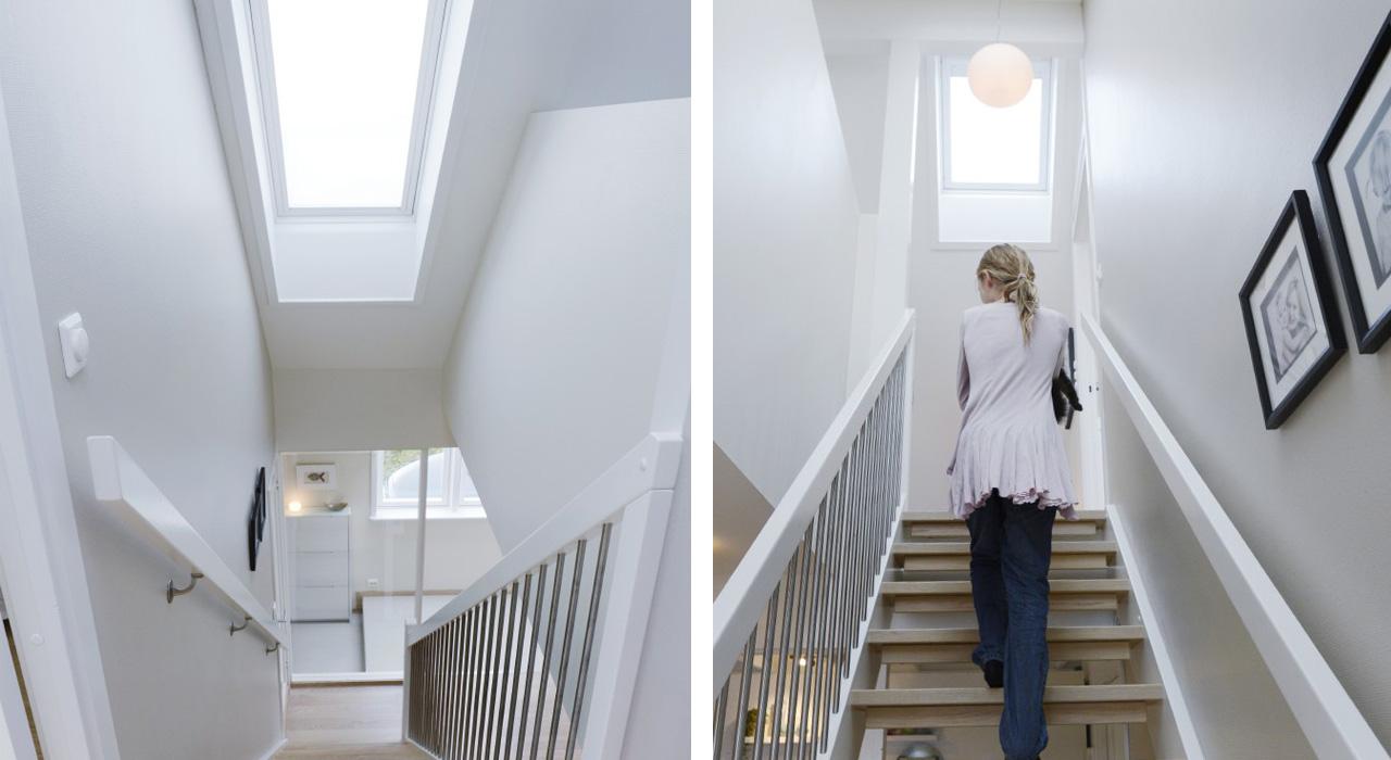dachausbau ideen für den flur | velux dachfenster
