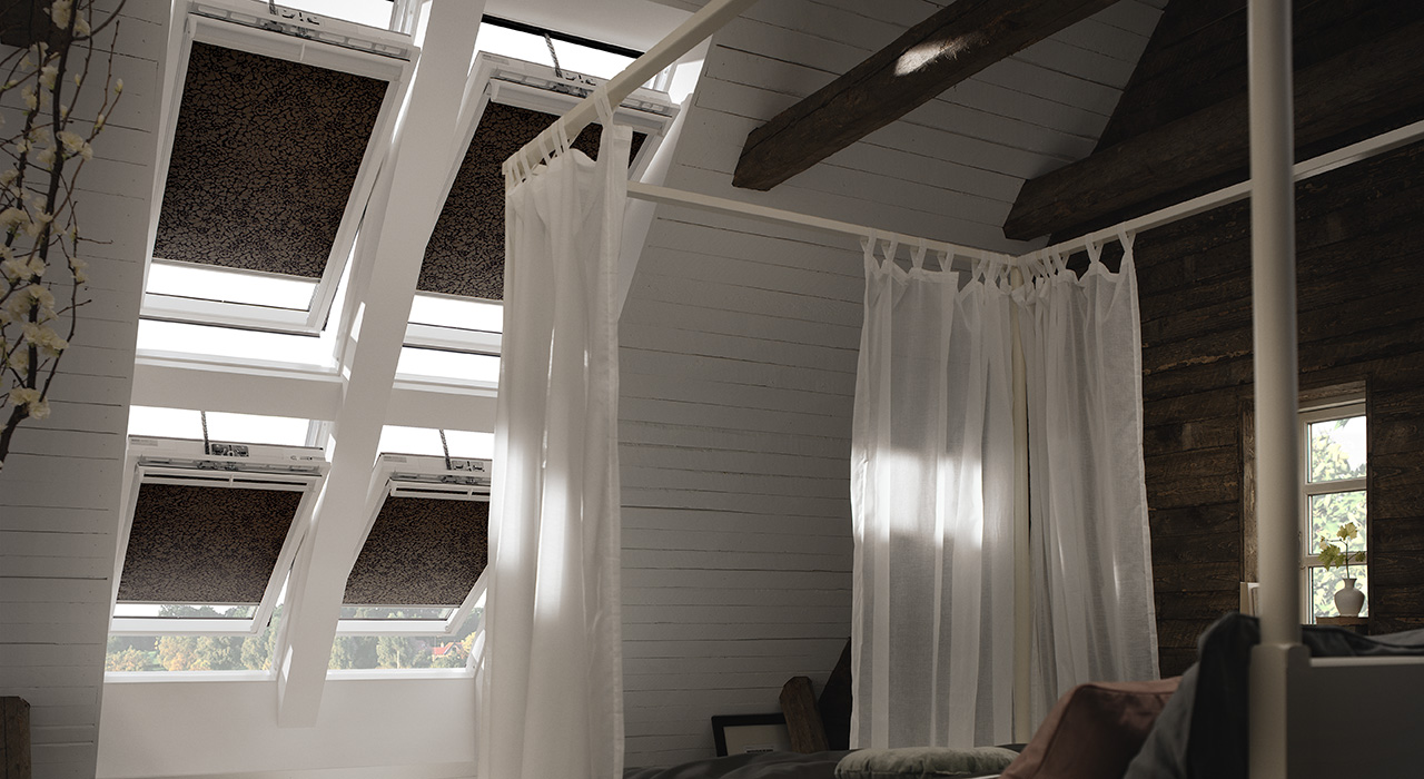 Dachausbau ideen f r schlafzimmer velux dachfenster - Dachfenster panorama ...