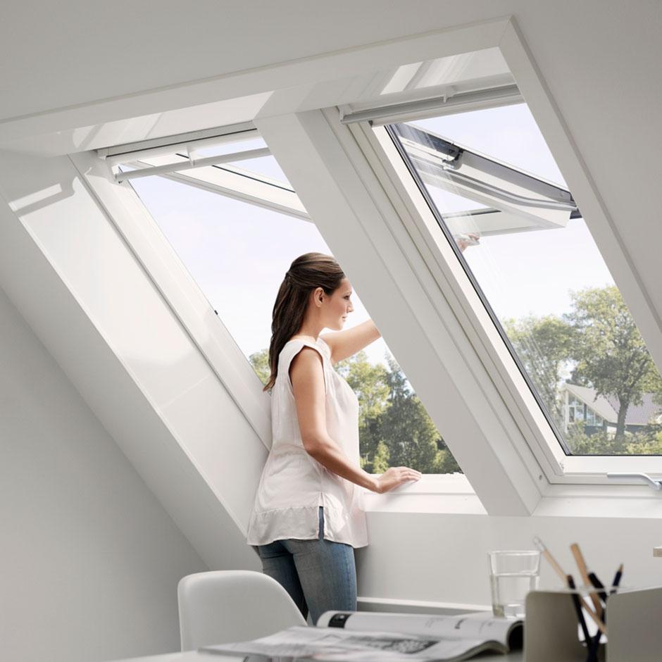 Sostituzione dei lucernari con finestre per tetti velux for Finestre x tetti