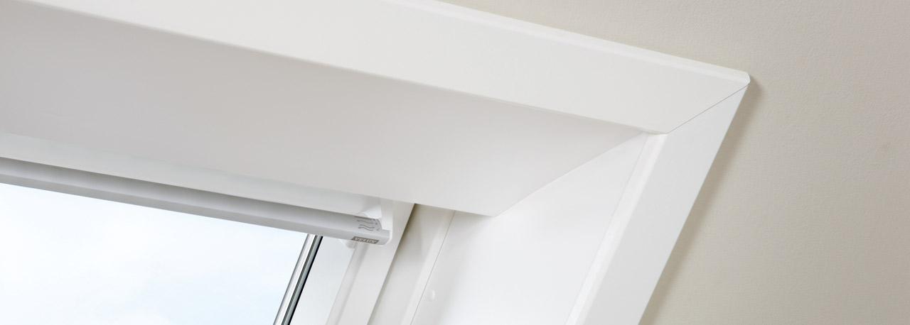 wandverkleidung innen für dachfenster | velux,