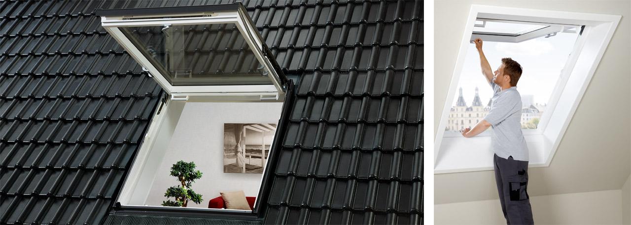 Dachfenster velux preise  GTU Notausstieg Dachfenster für mehr Sicherheit | VELUX