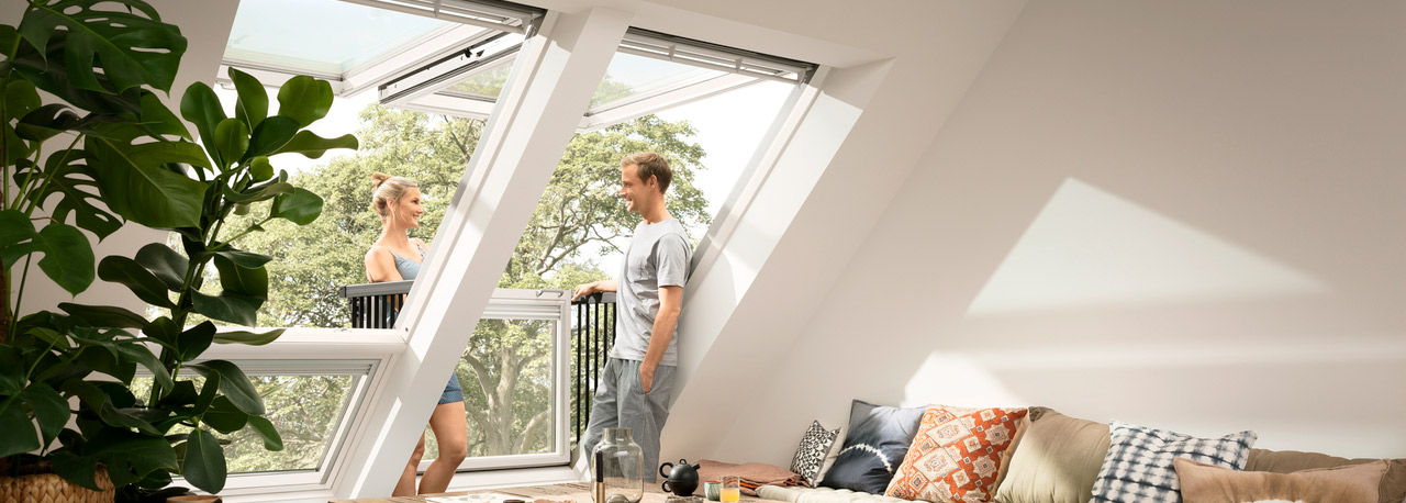 Velux Cabrio. Latest The New Velux Cabrio Roof Light System With ...