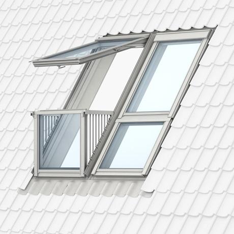 Dachfenster velux preise  Vom Fenster zum Dachbalkon oder Dachaustritt | VELUX