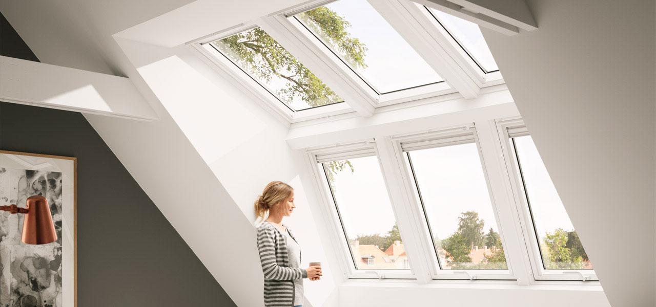 Panoramafenster dach  VELUX PANORAMA | Licht, Luft & Ausblick unterm Dach