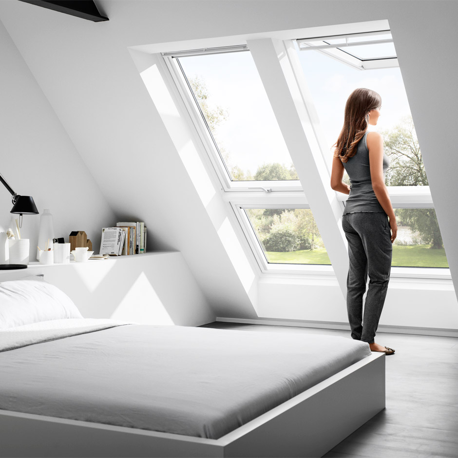 velux quartett licht luft ausblick unterm dach. Black Bedroom Furniture Sets. Home Design Ideas