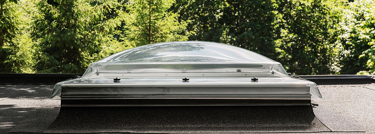 Flachdachfenster  VELUX Flachdachfenster (Lichtkuppel)