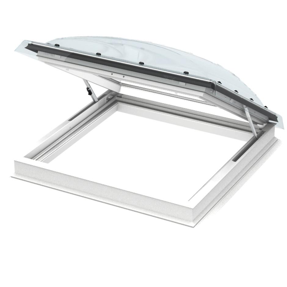 Velux flachdachfenster lichtkuppel - Velux en aluminium ...