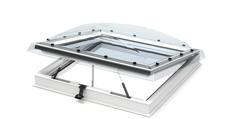 Flachdach fenster detail  VELUX Flachdachfenster (Lichtkuppel)