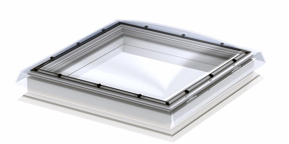 Flachdach fenster detail  Flachdachfenster (Lichtkuppel) von VELUX - Licht und frische Luft ...