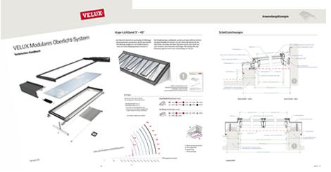 Oberlicht detail dwg  VELUX Fachkunden - Modulares Oberlicht-System von VELUX