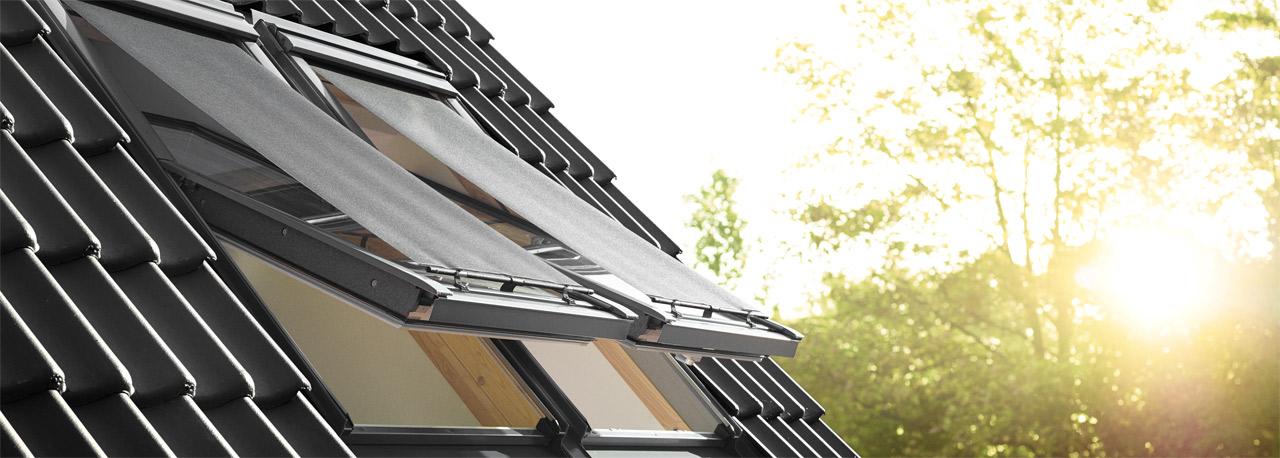 Dachfenster velux mit rolladen  VELUX Dachfenster | Wärmeschutz, Hitzeschutz und Sonnenschutz