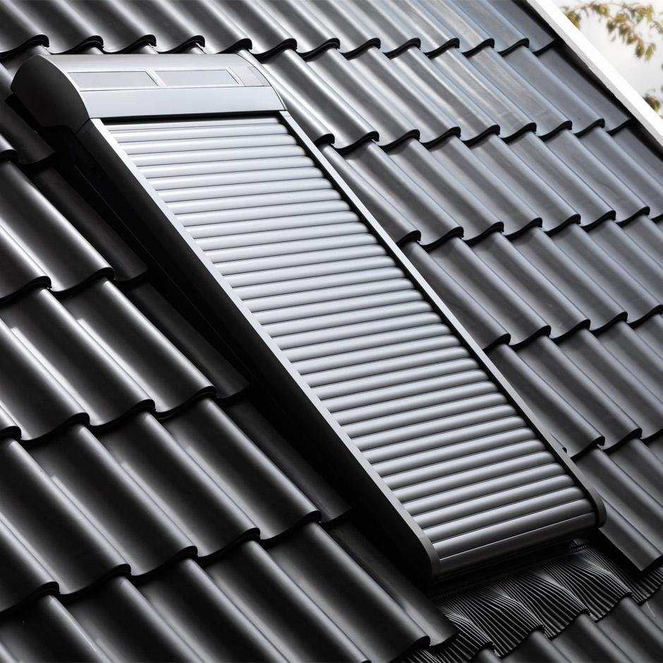 Dachfenster velux mit rolladen  VELUX Dachfenster Rollos, Jalousien, Plissees, Markisen und Rollläden