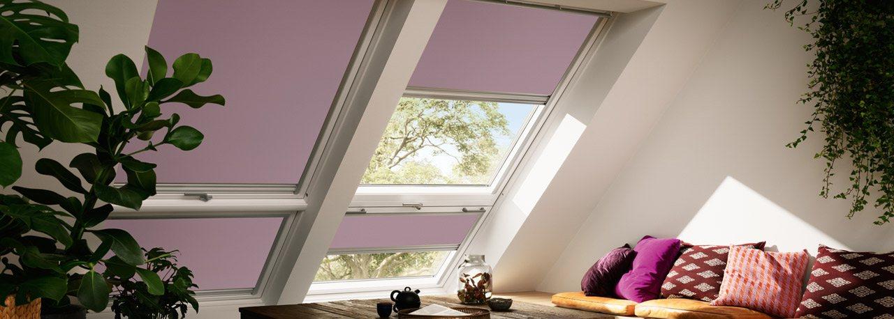 velux dachfenster verdunkelungsrollos erholsamer schlaf. Black Bedroom Furniture Sets. Home Design Ideas