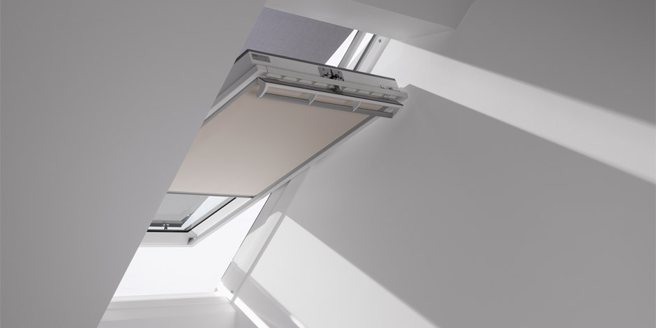 Velux Dachfenster Verdunkelungsrollos Erholsamer Schlaf
