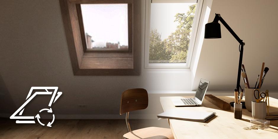 fen tre de toit trouvez vos fen tres de toit velux. Black Bedroom Furniture Sets. Home Design Ideas