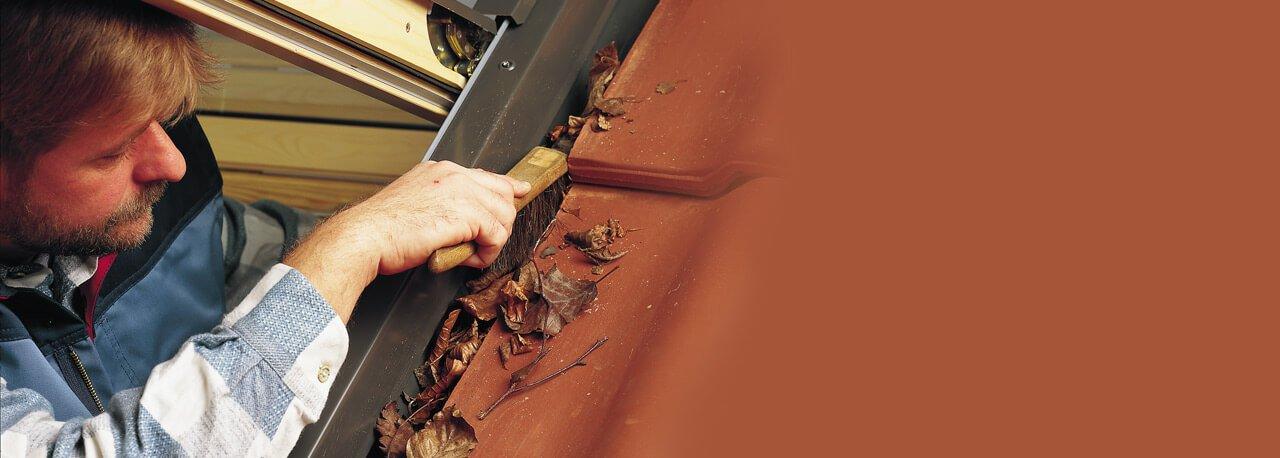 utilisation et entretien de votre fenêtre de toit | velux
