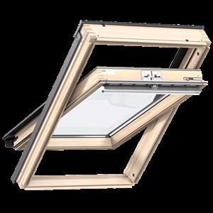 VELUX GZL1050 felső kilincses fa tetőtéri ablak