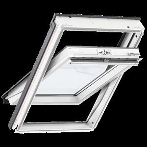 VELUX GLU 0055 felső kilincses poliuretán tetőtéri ablak