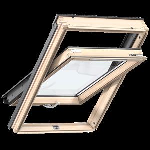 VELUX GLL 1055B alsó kilincses fa tetőtéri ablak