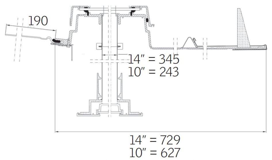Dettagli tecnici tunnel solare velux per tetti a falda for Misure lucernari per tetti