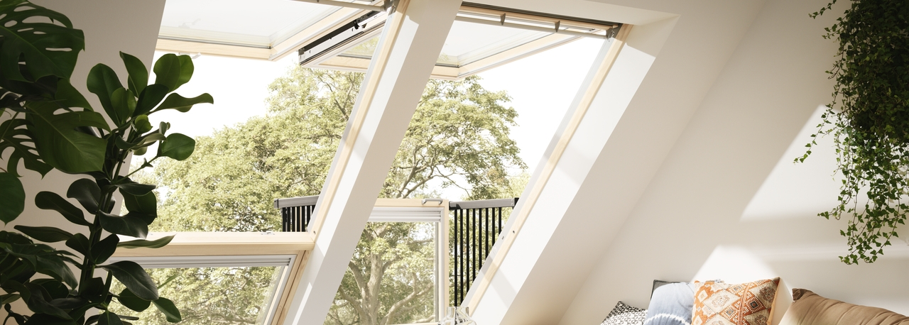 Balcone cabrio velux da finestra a balcone in pochi secondi for Velux finestre assistenza