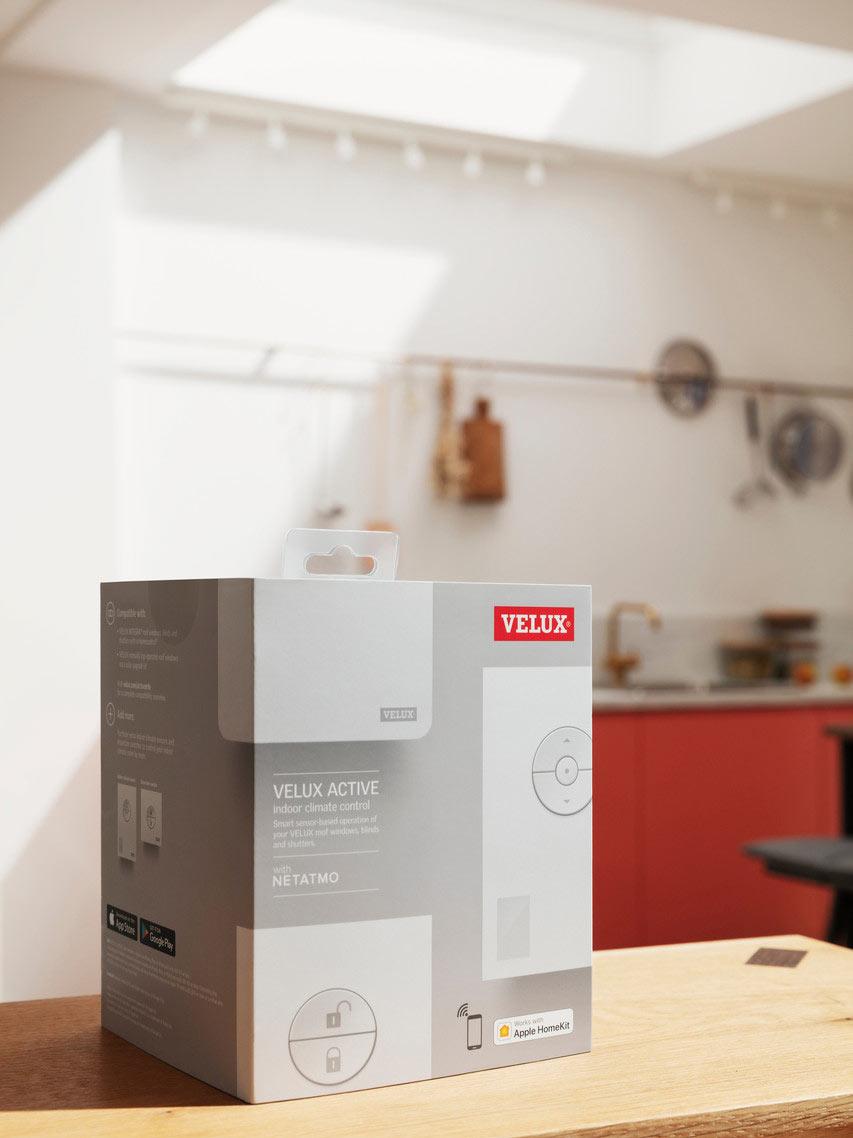 Velux active il sistema smart per controllare il comfort for Installatori velux