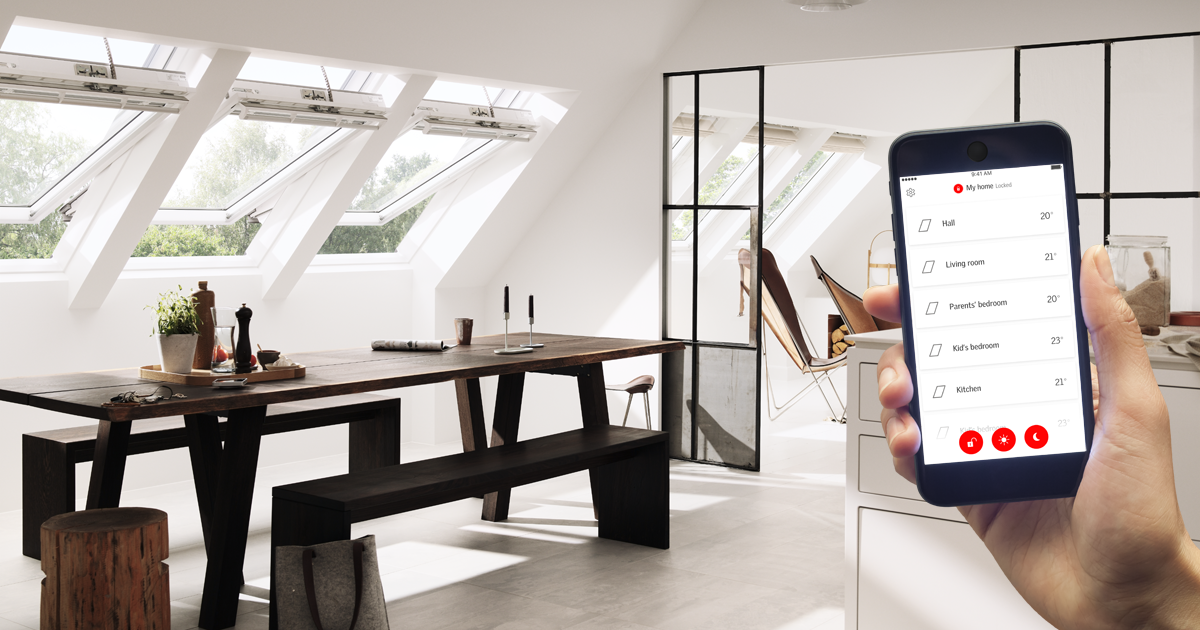 Velux Active Smart Home Control For Integra Electric Roof