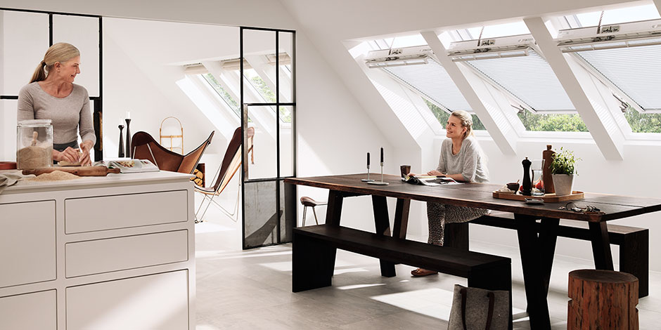 20 Ideen Für Mehr Geräumigkeit: Ideen Und Inspiration Für Ihre Küche Mit VELUX Dachfenstern