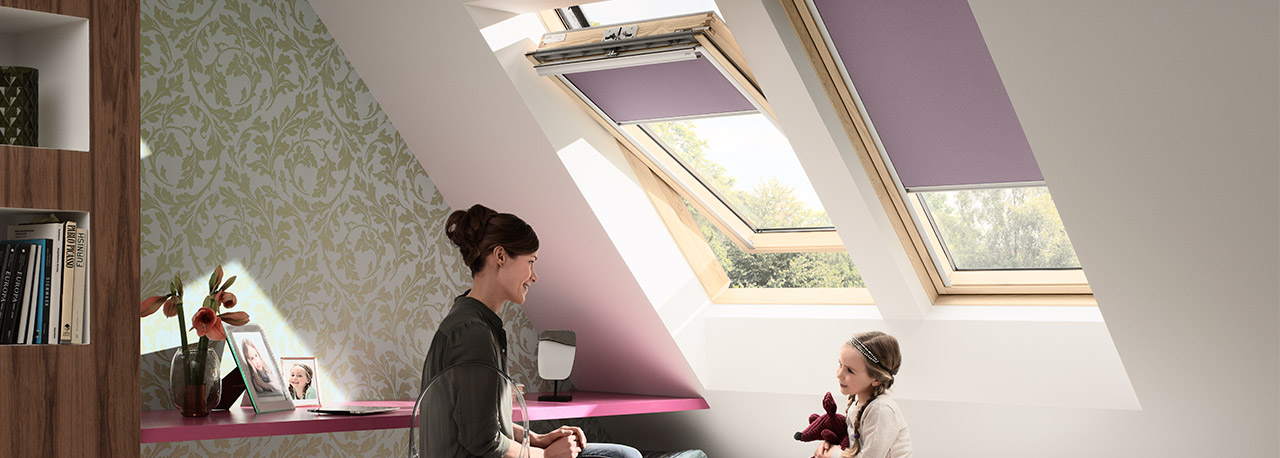 Tende oscuranti a rullo velux for Velux assistenza