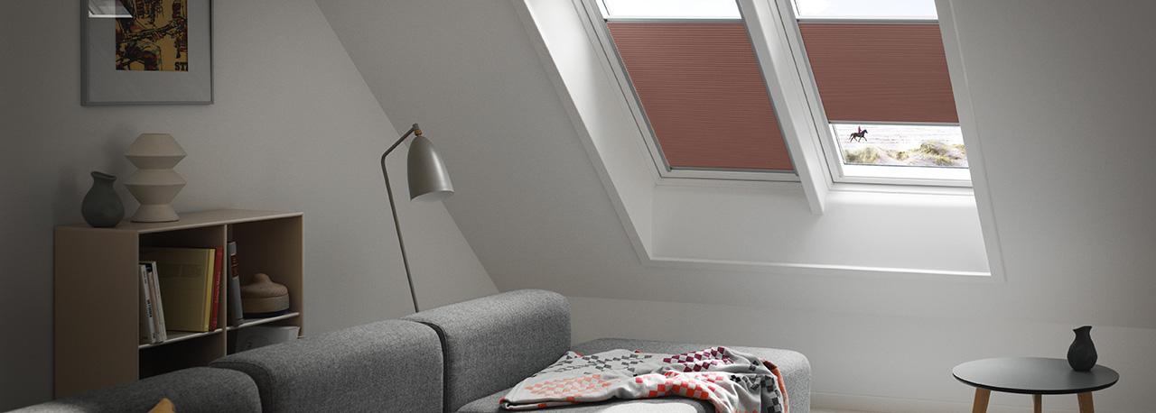 Tende energetiche velux isolamento termico e privacy in uno for Velux finestre assistenza