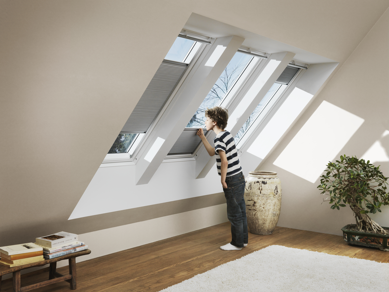 velux blackout energy blinds insulation improvements of up to 25. Black Bedroom Furniture Sets. Home Design Ideas