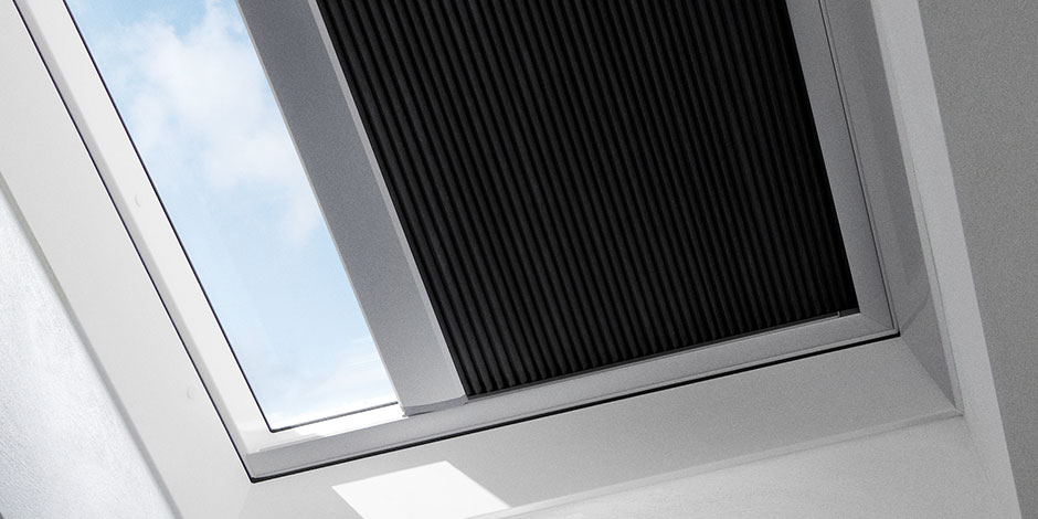 Velux Light Dimming Blinds For Flat Roof Window