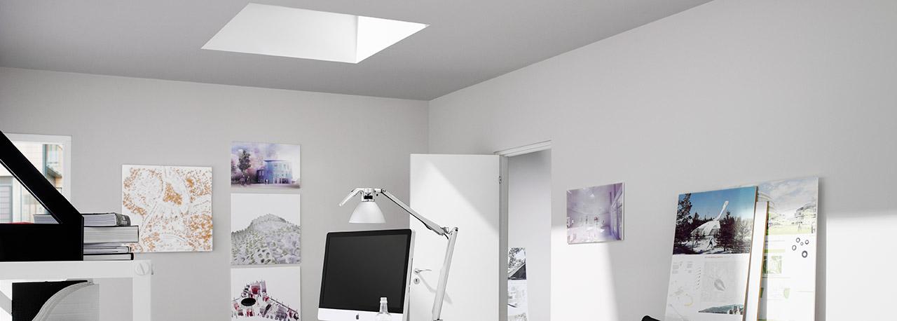 plissees f r velux flachdachfenster. Black Bedroom Furniture Sets. Home Design Ideas