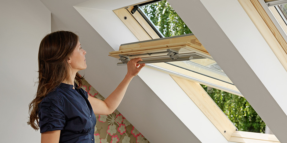 Velux professional flat roof sections for Velux customer support