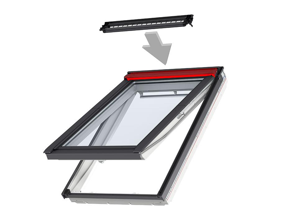 fensterl fter velux balanced ventilation. Black Bedroom Furniture Sets. Home Design Ideas