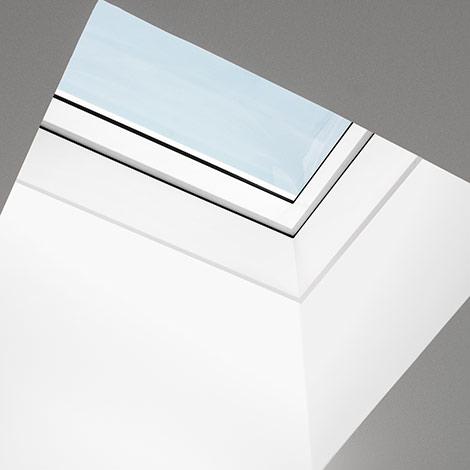 Finestre per tetti piani velux vetro curvo for Velux in pvc