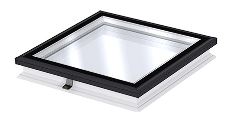 Velux Flat Glass Rooflight Light And Fresh Air In Flat