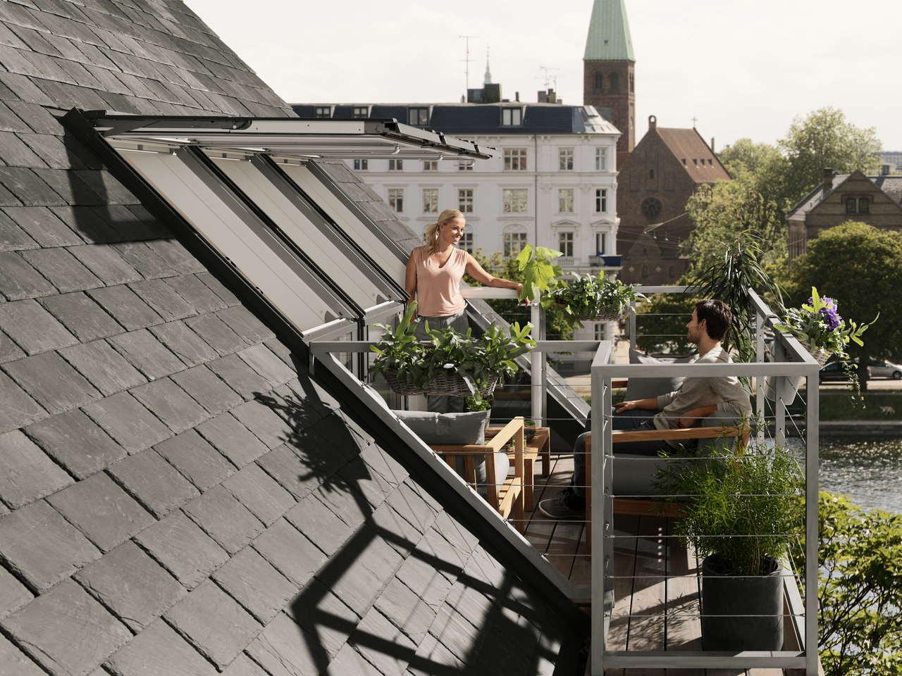 Velux Roof Terrace Enjoy The Added Space And Light