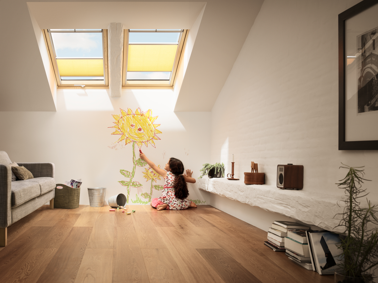 VELUX top-hung roof windows