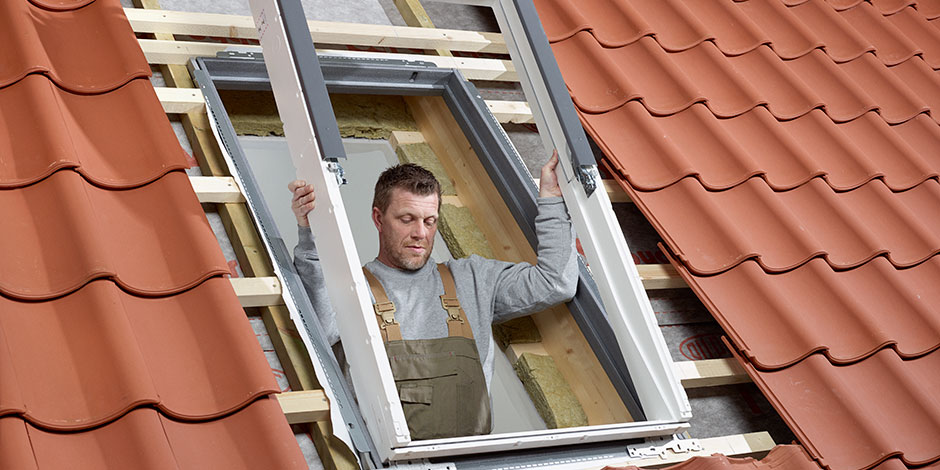 Velux integra roof windows remote controlled and for Velux cladding kit