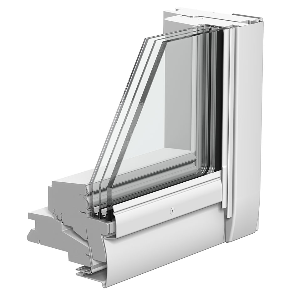 Finestre per tetti velux con doppia apertura for Finestre x tetti
